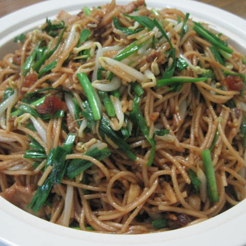 Chinese noodles recipes- Teo Chew Fried Noodle (Mian Tiao)