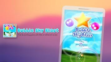 Screenshot of Bubble Sky Blaster