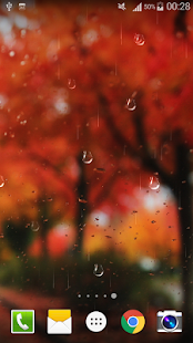 Glass Droplets Live Wallpaper - screenshot