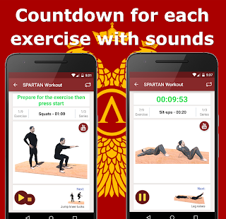 Spartan Warrior Workout Pro - screenshot