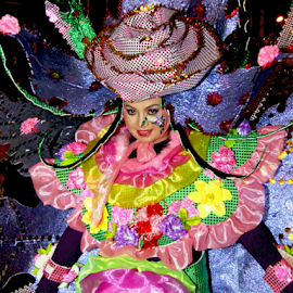 Carnaval Girl #2 by Robby Laksana - People Musicians & Entertainers