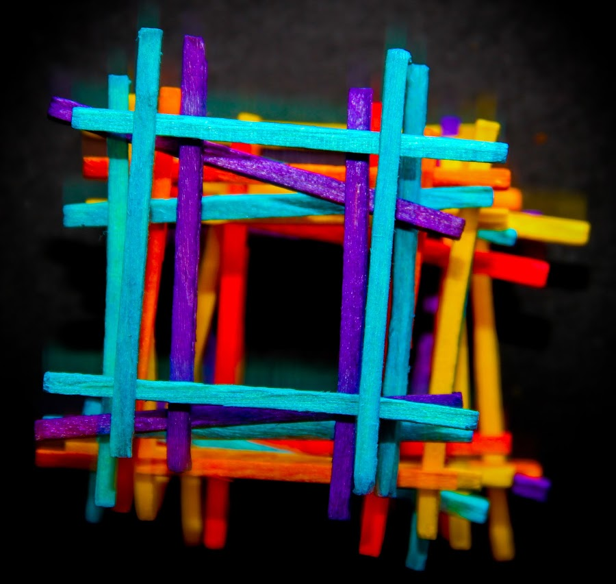 Match Stick by Tushar Bhandari - Abstract Patterns