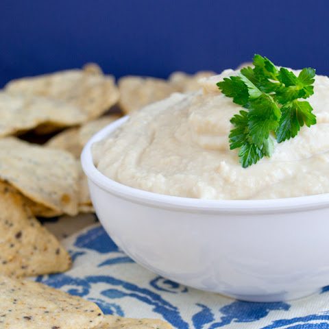 Creamy Hummus Recipe Made With Greek Yogurt