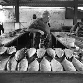 Fish market Seychelles by Aaron St Clair - People Street & Candids ( victoria market, market, mahe, fish, seychelles )