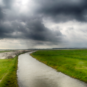 Before the storm by Topu Saha - Landscapes Cloud Formations ( sky, cloudy, storm, green, blue, nature, dark, topu saha, clouds, bangladesh )