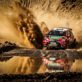 Splash01 by Johan Niemand - Sports & Fitness Motorsports ( rally, water, mud, splash, race, rally car )