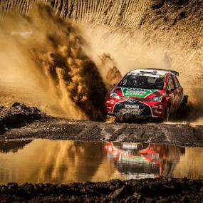 Splash01 by Johan Niemand - Sports & Fitness Motorsports ( rally, water, mud, splash, race, rally car )