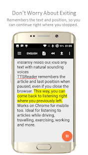 TTSReader+- screenshot thumbnail
