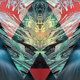 Ascendant by Paul Griffin - Illustration Abstract & Patterns