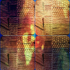 basket weave by Linda Brown - Digital Art Abstract