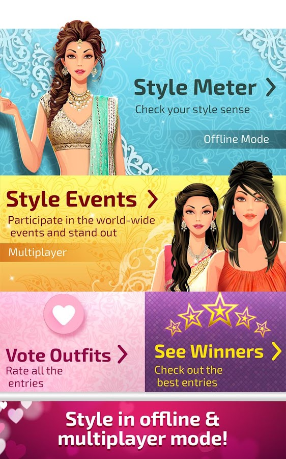 Indian Fashion Stylist Screenshot