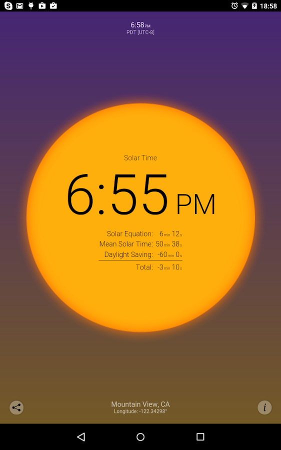Solar Time Screenshot 11