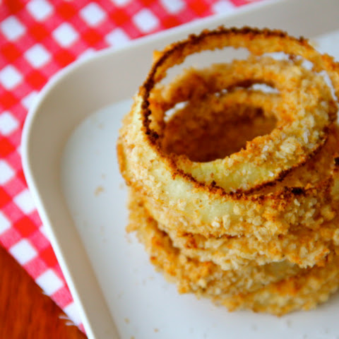 Baked Chipotle Onion Rings