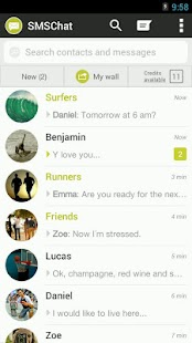 SMS Chat - screenshot
