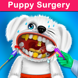 Puppy Surgery Hospital Pet Vet Care DayCare For PC (Windows & MAC)