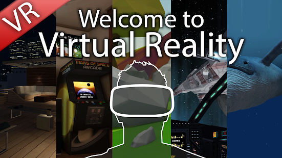 Welcome to Virtual Reality screenshot for Android