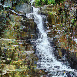 Labi by Abdul Rehman - Landscapes Waterscapes ( natural, nature, natural light, nature up close, water fall, stone,  )