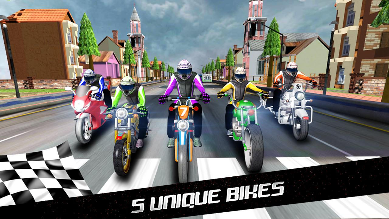 Turbo Racer - Bike Racing Screenshot 5