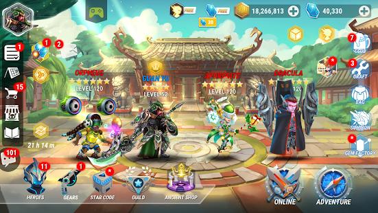 Heroes Infinity: Fantasy Legend Online Offline RPG