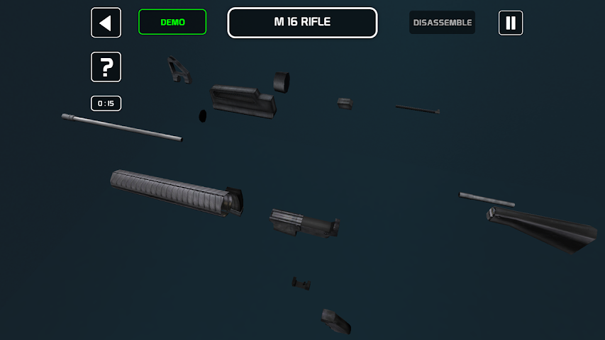android Disassemble It! - Weapons Screenshot 1