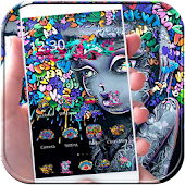 App Graffiti Art Theme Rock Girl APK for Windows Phone