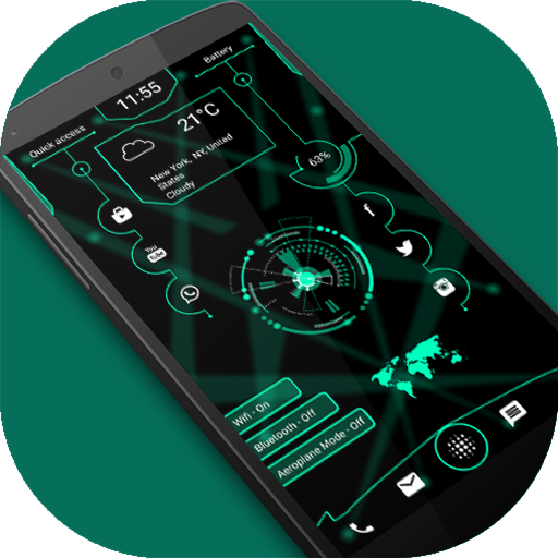 ARC Hi-tech Launcher 2018 - Hi-tech Launcher,Theme APK Cracked Download