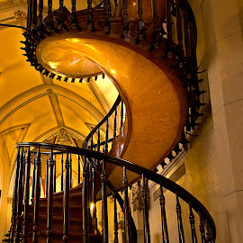 the Miraculous Stair by Olga Charny - Buildings & Architecture Places of Worship