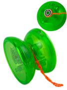 """Пружинка серии """"Город Игр"""" Йо-Йо светящийся, с подшипником, зеленый"""