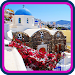 Oia Greece HD Wallpaper Icon
