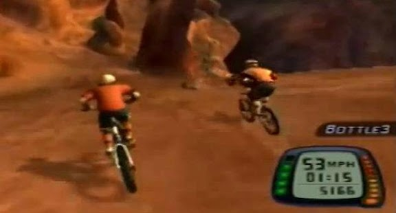 Moto Mountain Bike - screenshot