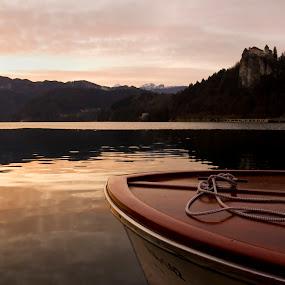 Bled Lake by Massimo Izzo - Landscapes Sunsets & Sunrises