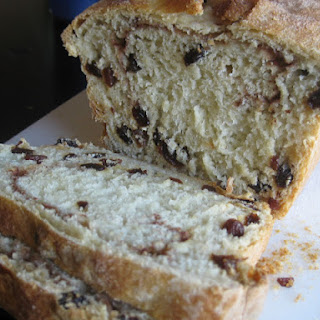 Cinnamon Pinwheel Raisin Bread, from Nancy Baggett