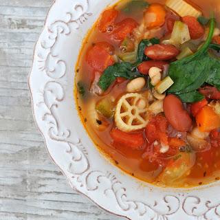 Roasted Vegetable Minestrone Recipes