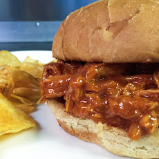 Bourbon BBQ Pulled Chicken Sandwich