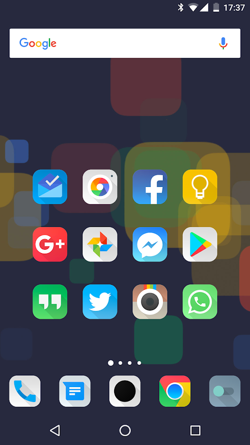 Aurora UI Square - Icon Pack Screenshot 1