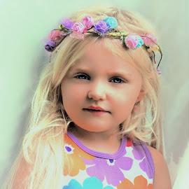 Soft Princess by Cheryl Korotky - Babies & Children Child Portraits