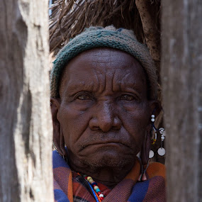 Maasai Elder by VAM Photography - People Portraits of Men ( elder, person, maasai, portrait, culture, man )