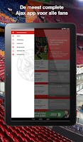 Screenshot of Ajax Fanzone