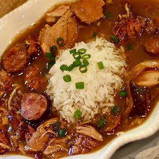 Rox's Chicken and Smoked Sausage Gumbo