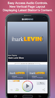 Screenshot of Mark Levin Show