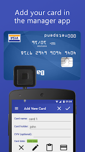 MyCard Manager screenshot for Android