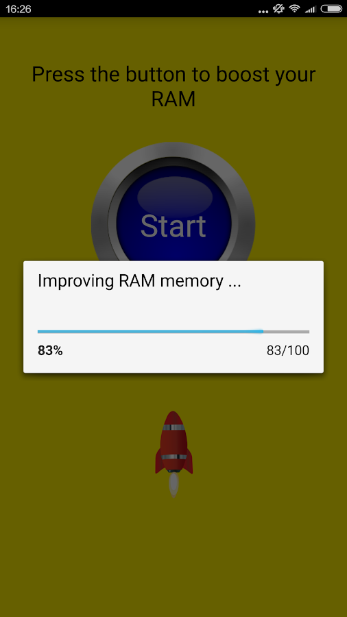 RAM Clean Screenshot 1