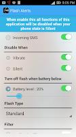 Screenshot of Flash Alerts