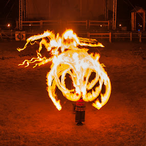 Faer show by Oxana Chorna - News & Events Entertainment ( torch, performance, faer show, fun, fire )