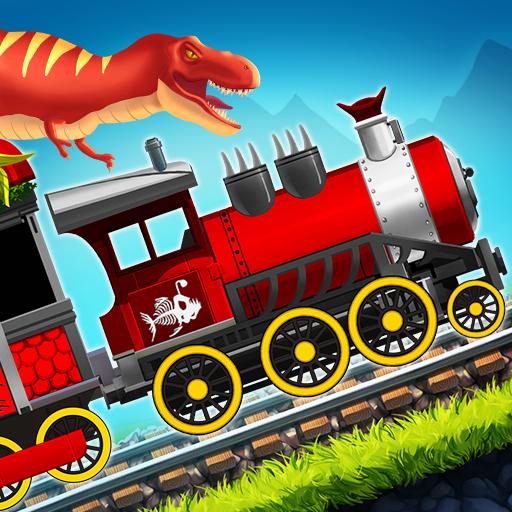 Dinosaur Park Train Race (game)