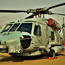 SH-60 Sea Hawk  by Benito Flores Jr - Transportation Helicopters ( helicopter, texas, navy, air show )