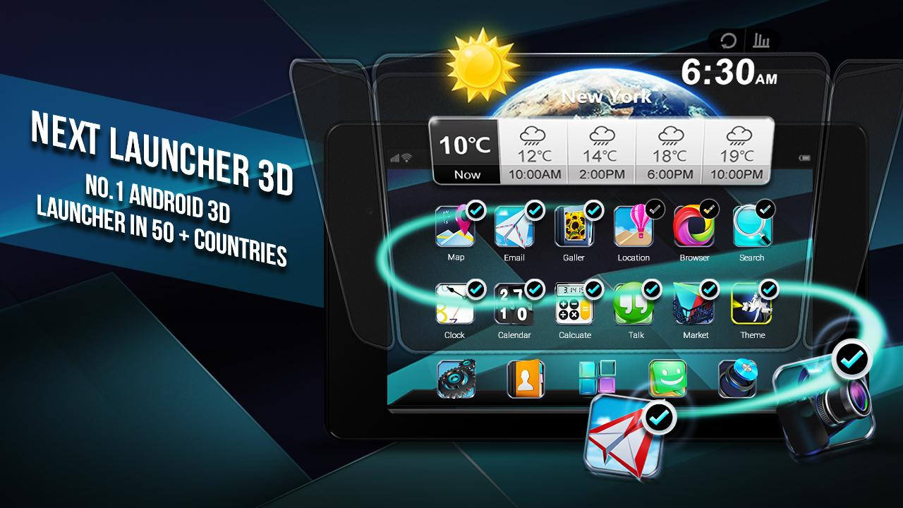 Next Launcher 3D Shell Screenshot 7