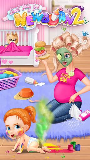 Sweet Baby Girl Newborn 2