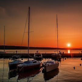 sailing boats by Eseker RI - Transportation Boats (  )