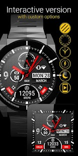 Watch Face BW Inter - screenshot